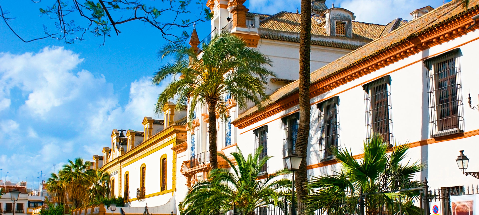 One of Seville's most beautiful buildings is the baroque Hospital de la Caridad, dating from the mid 15th century. Originally founded to help the old and the poor, the hospital still treats patients and the hospital's chapel is 'must see' for any visitor to the city.