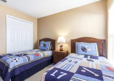 Bedroom #3 at Villa Carter, Aviana Resort, Davenport, Florida