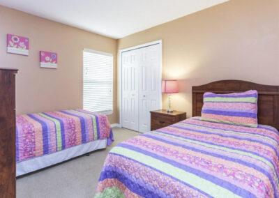 Bedroom #4 at Villa Carter, Aviana Resort, Davenport, Florida