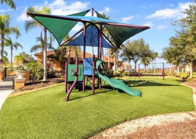 The children's play area at Aviana Resort, Davenport, Florida